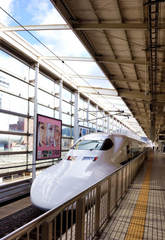 shinkansen vs. ICE = 1:0