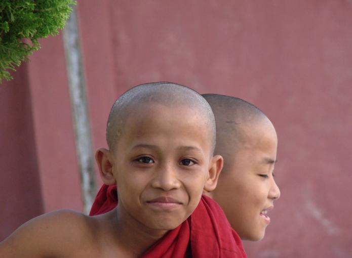 young gods / mandalay . burma 2549