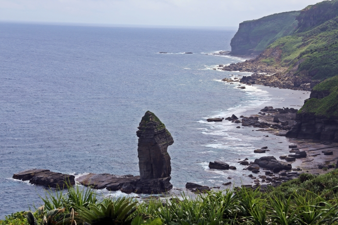view to the monument area and iseki point / yonaguni-jima