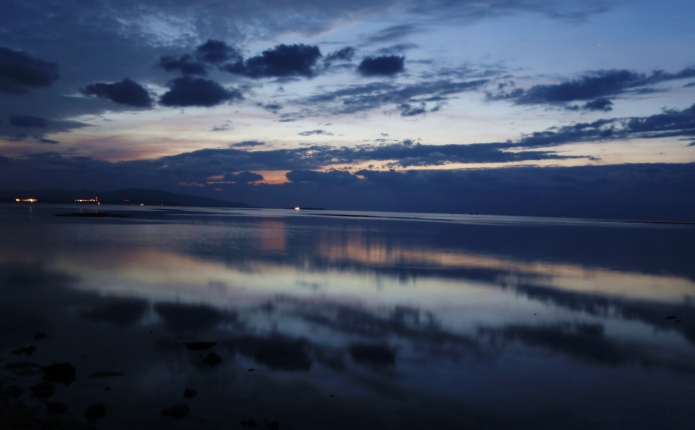 iriomote after sunset