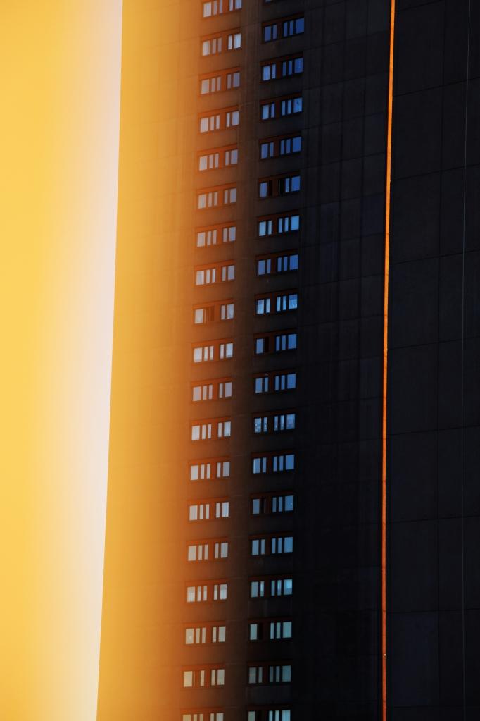 hardturm sunset