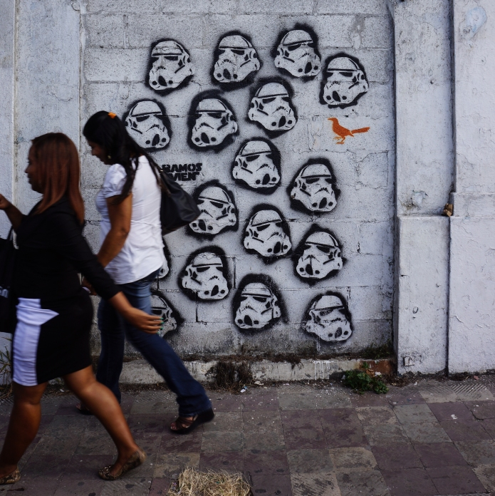 streetart / casca viejo