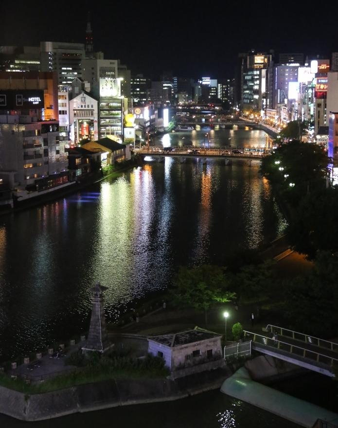 fukuoka by night