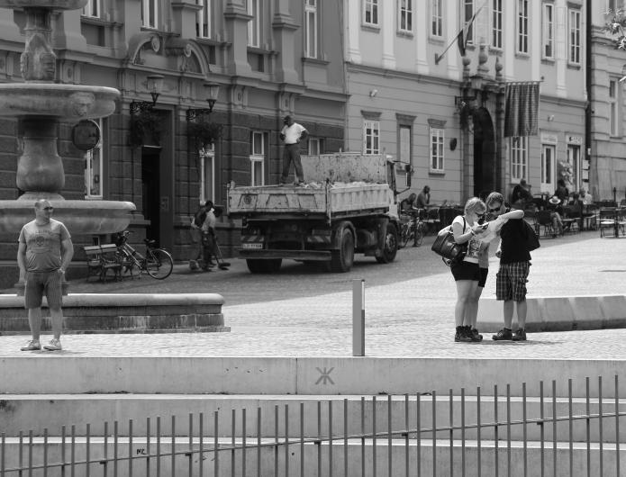 ljubliana streetlife