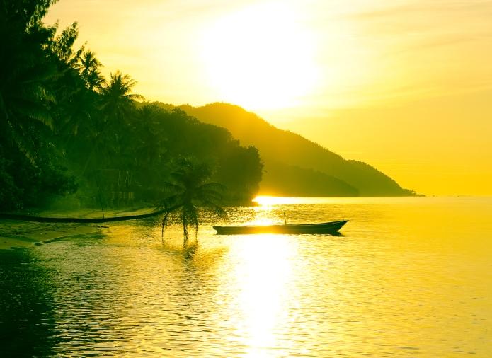 sun setting .ii