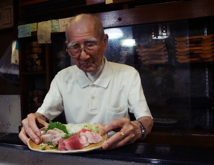 3-17 sanchōme / shimoda-shi [ 60 years of sashimi experience ]